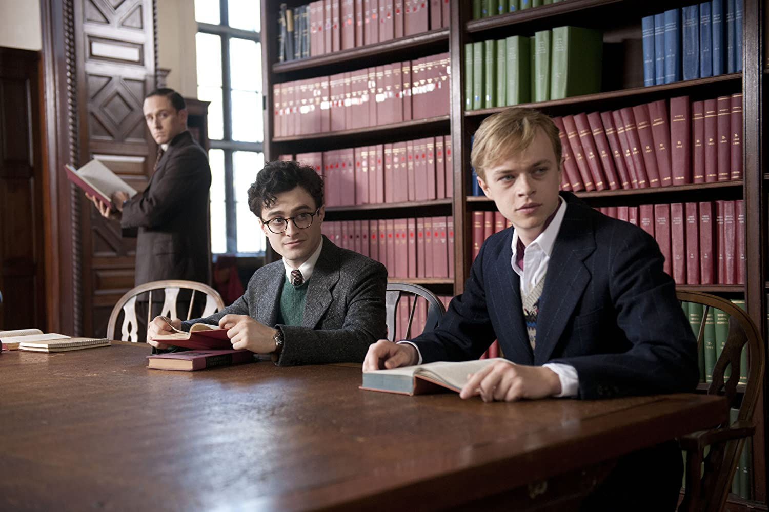 Ben Foster, Daniel Radcliffe, and Dane DeHaan in Kill Your Darlings (2013)