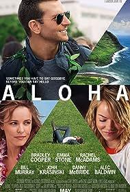 Bradley Cooper, Rachel McAdams, and Emma Stone in Aloha (2015)