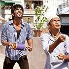 Amrita Puri, Sushant Singh Rajput, and Digvijay Deshmukh in Kai po che! (2013)