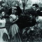 June Allyson, Janet Leigh, Peter Lawford, and Richard Stapley in Little Women (1949)