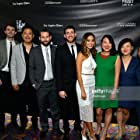 """Cast and Crew of """"It's Already Tomorrow in Hong Kong"""" at the Los Angeles Film Festival World Premiere screening."""