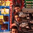 Dylan Minnette, Ryan Lee, and Odeya Rush in Goosebumps (2015)