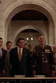 Miguel Ferrer, Mark Margolis, and Ian McShane in Kings (2009)