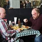 Louis C.K. and Robert Kelly in Louie (2010)