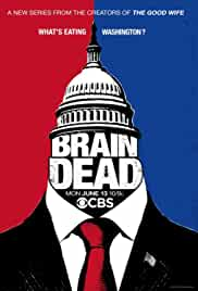 View BrainDead - Season 1 (2016) TV Series poster on Ganool
