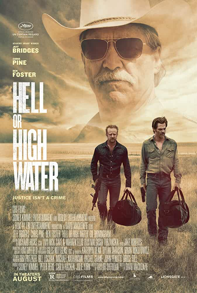Jeff Bridges, Ben Foster, and Chris Pine in Hell or High Water (2016)