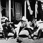 """Born to the West,"" Paramount 1937. James Craig, Monte Blue, John Wayne, Nick Lukats, and Johnny Mack Brown."