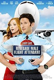 Mark Feuerstein and Jayma Mays in Larry Gaye: Renegade Male Flight Attendant (2015)