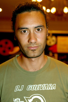 """Taika Waititi (Cohen), director of """"Two Cars One Night"""""""