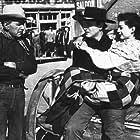 """Angel and the Badman,"" Republic 1947. Harry Carey, John Wayne, and Gail Russell."