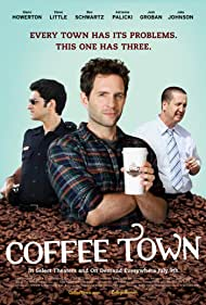 Glenn Howerton, Steve Little, and Ben Schwartz in Coffee Town (2013)