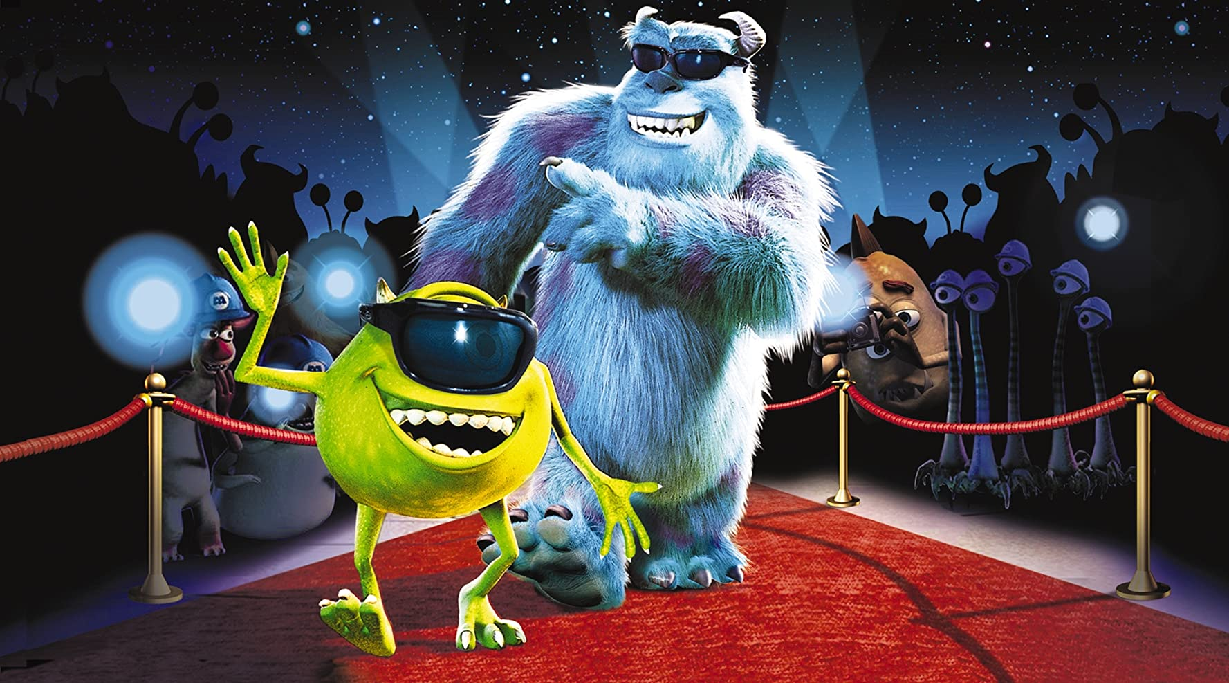 Billy Crystal and John Goodman in Monsters Inc 2001