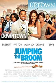 Angela Bassett, Laz Alonso, Loretta Devine, Meagan Good, Tasha Smith, and Paula Patton in Jumping the Broom (2011)