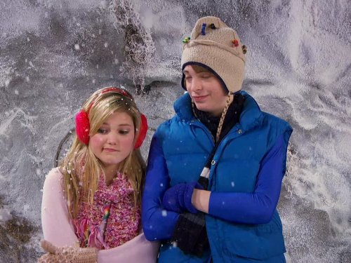 Dylan Riley Snyder and Olivia Holt in Kickin' It (2011)
