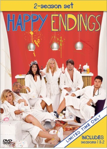 Elisha Cuthbert, Zachary Knighton, Damon Wayans Jr., Adam Pally, Casey Wilson, and Eliza Coupe in Happy Endings (2011)