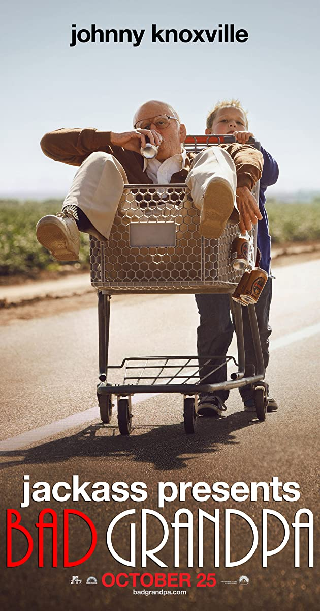 Pašėlęs senelis / Jackass Presents: Bad Grandpa (2013) Online