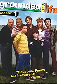Donal Logue, Lynsey Bartilson, Jake Burbage, Kevin Corrigan, Griffin Frazen, Megyn Price, and Richard Riehle in Grounded for Life (2001)