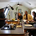 Cast and Crew moment on the set of Against The Jab