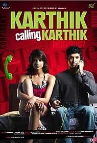 Farhan Akhtar and Deepika Padukone in Karthik Calling Karthik (2010)
