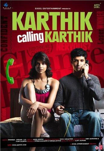 Karthik Calling Karthik (2010) Hindi Blu-Ray - 480P | 720P - x264 - 350MB | 1GB - Download & Watch Online  Movie Poster - mlsbd