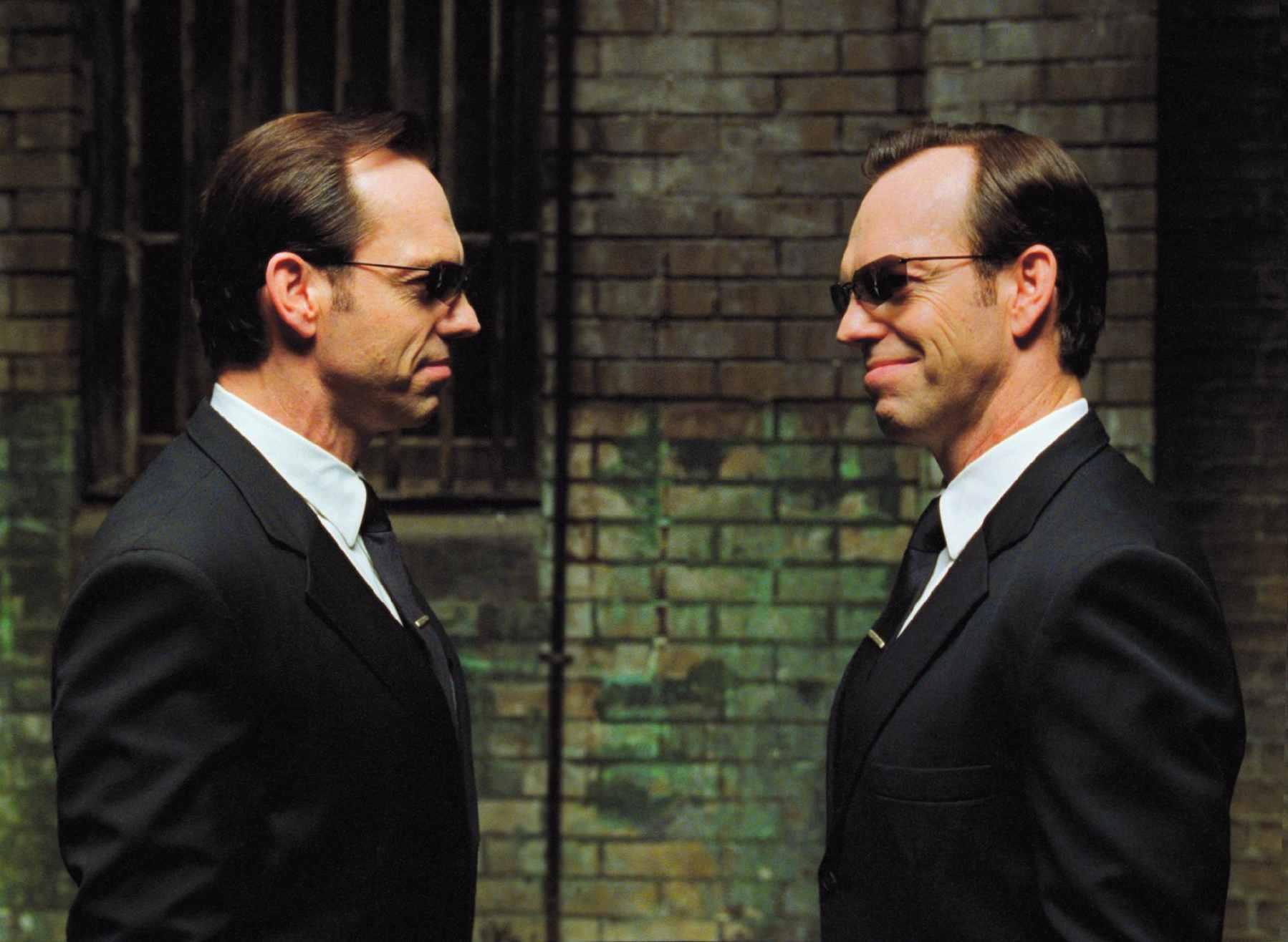 Hugo Weaving in The Matrix Reloaded (2003)
