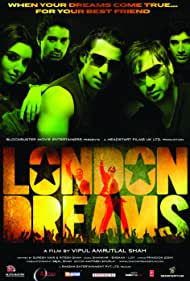 Salman Khan, Ajay Devgn, Asin Thottumkal, Rannvijay Singh, and Aditya Roy Kapoor in London Dreams (2009)