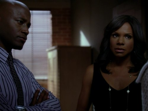 Taye Diggs and Audra McDonald in Private Practice (2007)