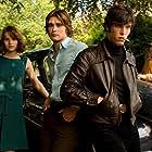 Christian Cooke, Felicity Jones, Jack Doolan, and Tom Hughes in Cemetery Junction (2010)
