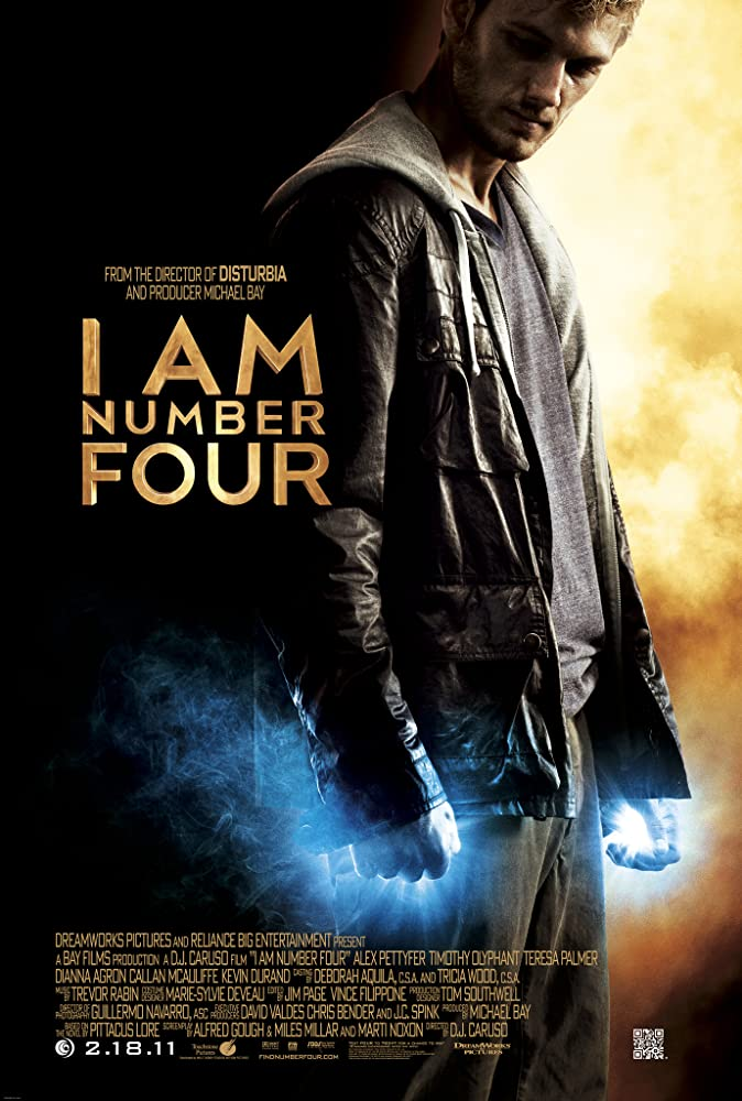 Alex Pettyfer in I Am Number Four (2011)