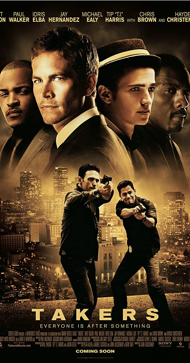 Subtitle of Takers