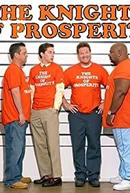Sofía Vergara, Donal Logue, Maz Jobrani, Kevin Michael Richardson, Lenny Venito, and Josh Grisetti in The Knights of Prosperity (2007)