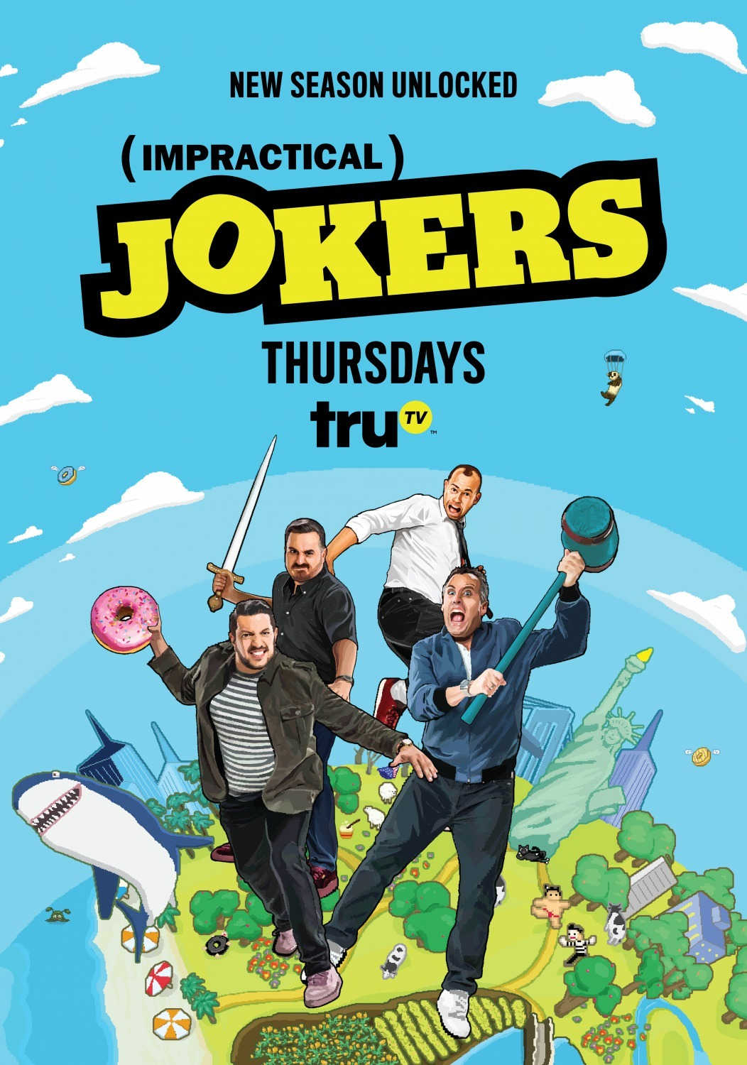 Image result for impractical jokers poster