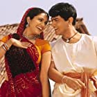 Aamir Khan and Gracy Singh in Lagaan: Once Upon a Time in India (2001)