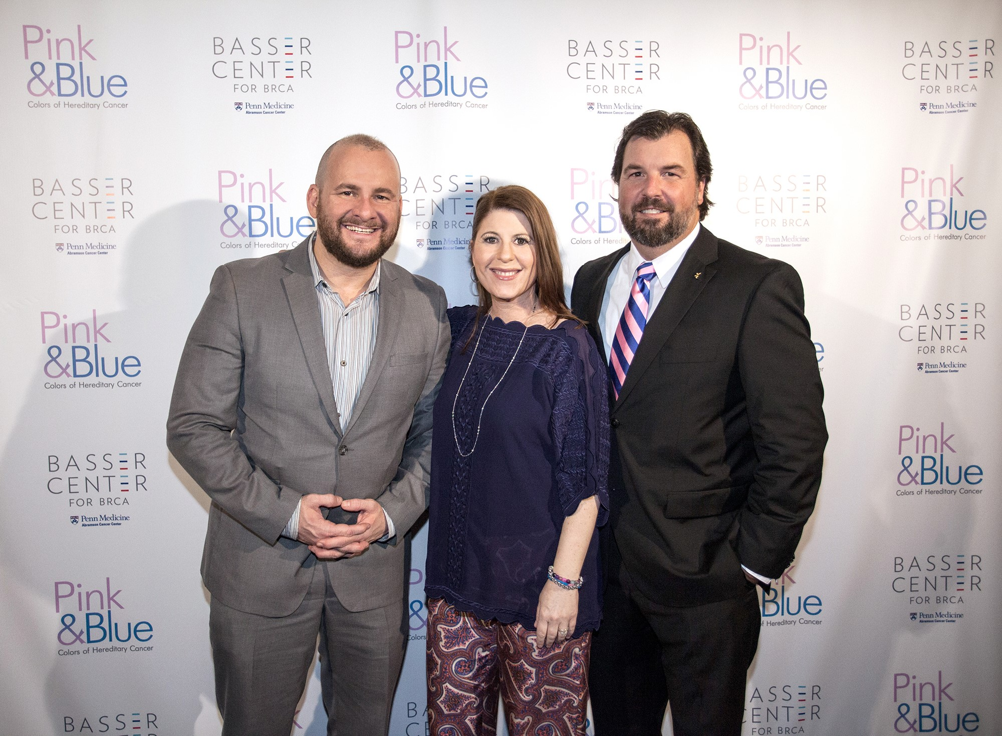 """PINK & BLUE: COLORS OF HEREDITARY CANCER"" - Red Carpet Premiere - October 2015"