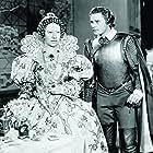 Errol Flynn and Flora Robson in The Sea Hawk (1940)