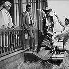 """Elizabeth Taylor, Rock Hudson and James Dean in """"Giant"""" 1955 Warner Bros."""