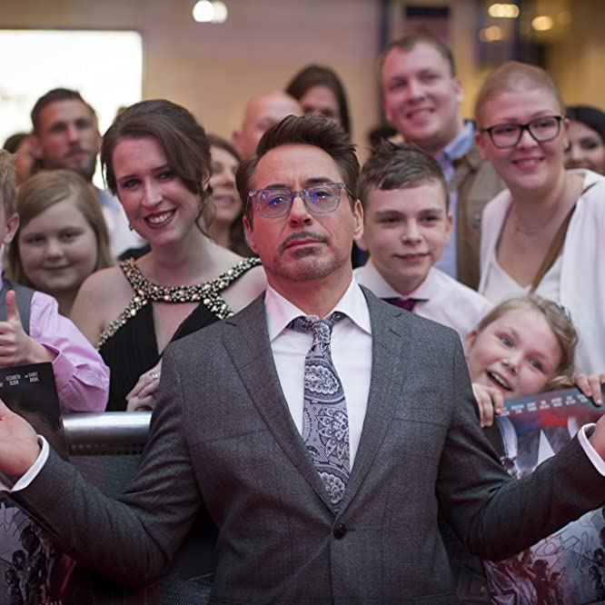 Robert Downey Jr. at an event for Captain America: Civil War (2016)