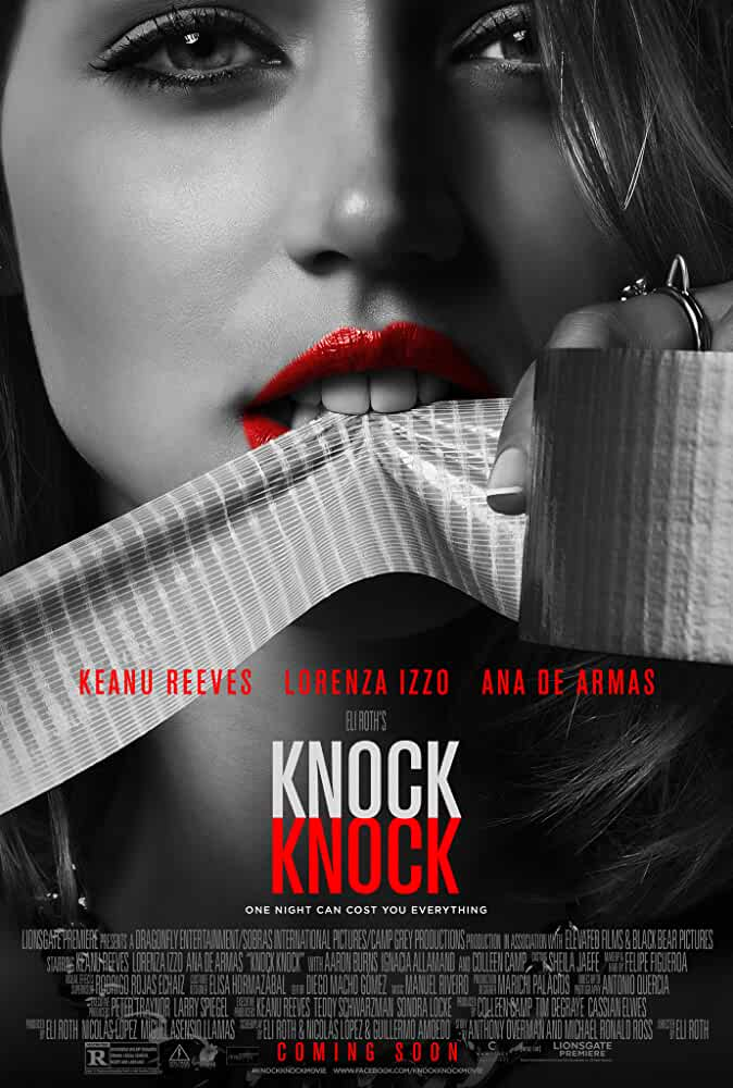 18+ Knock Knock 2015 BRRip  720p Full Movie , Free Download & Watch Online .