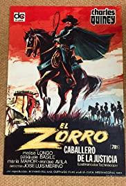 Zorro, Rider of Vengeance (1971) Poster - Movie Forum, Cast, Reviews