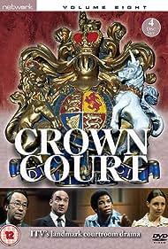 Don Henderson, Diane Keen, Peter Sallis, and Don Warrington in Crown Court (1972)