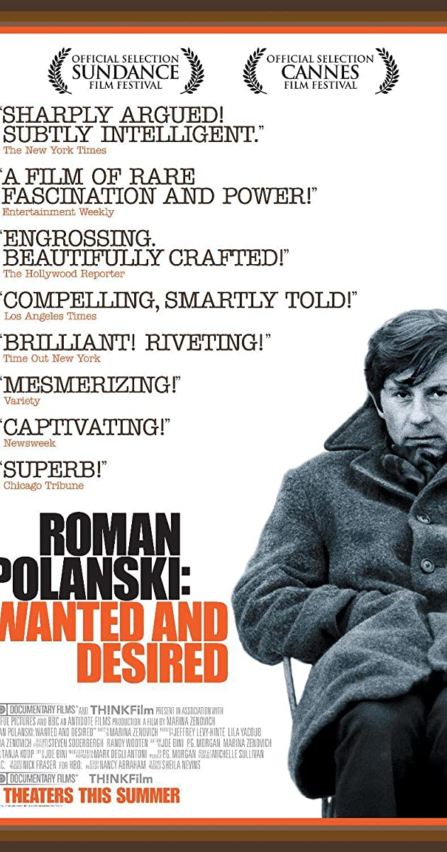 Subtitle of Roman Polanski: Wanted and Desired
