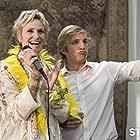 Jane Lynch and Ryan Hansen in Party Down (2009)