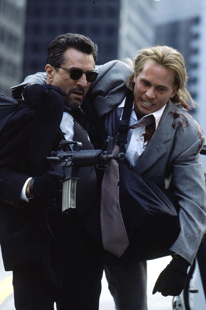 Robert De Niro and Val Kilmer in Heat (1995)