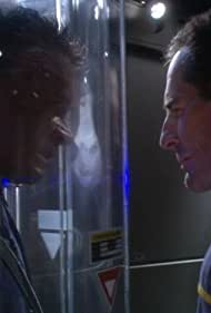 Scott Bakula and Connor Trinneer in Enterprise (2001)