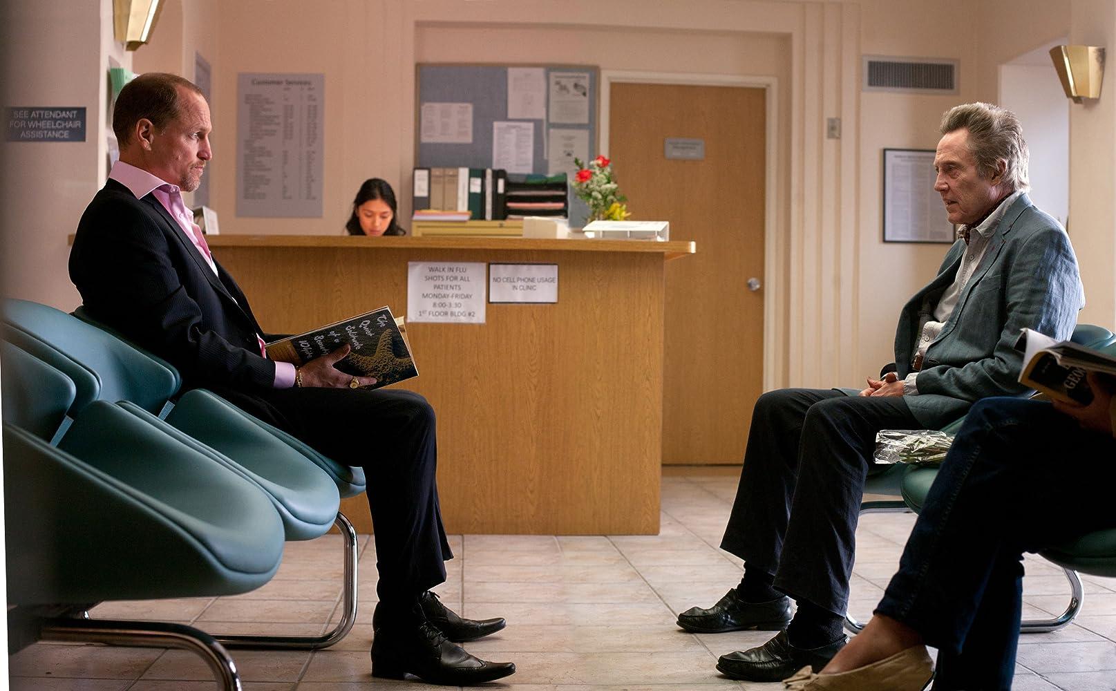 Woody Harrelson and Christopher Walken in Seven Psychopaths (2012)