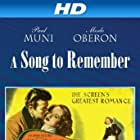 Merle Oberon and Cornel Wilde in A Song to Remember (1945)