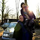 """Guido Föhrweißer being """"Torre"""" in The Big Black, here  with daughter Eve on his shoulders (Delphine Chaneac)"""