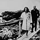"Elizabeth Taylor on location at Big Sur California for ""The Sandpiper"""