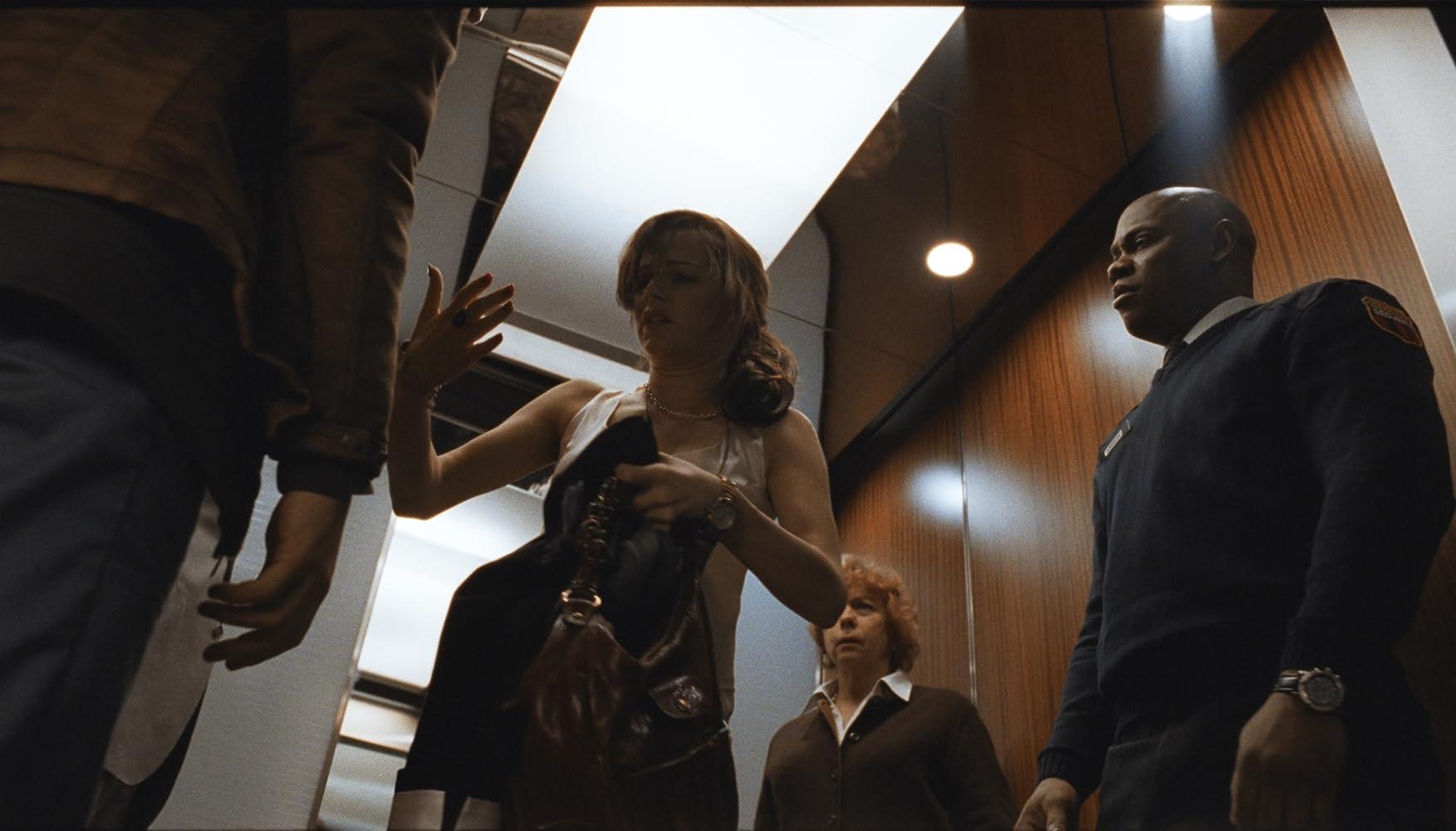 Bojana Novakovic, Jenny O'Hara, Bokeem Woodbine, and Logan Marshall-Green in Devil (2010)