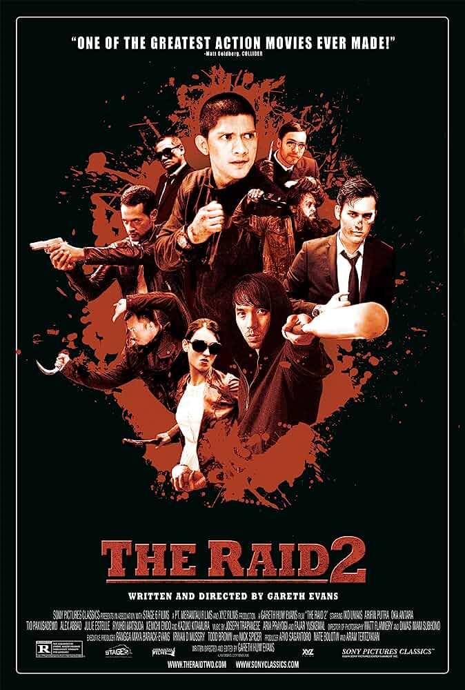 The Raid 2 (2014) Hindi Dubbed